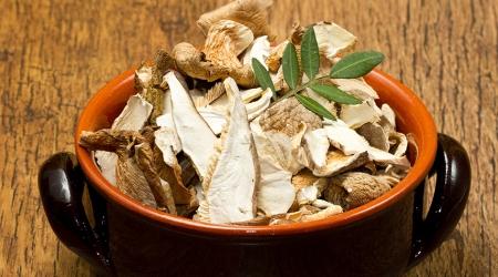 Как правильно сушить белые грибы