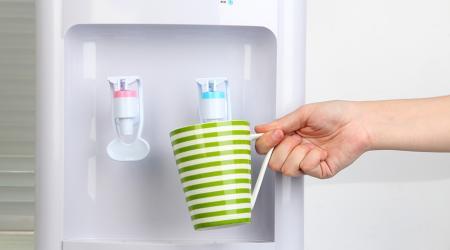 Как почистить кулер для воды