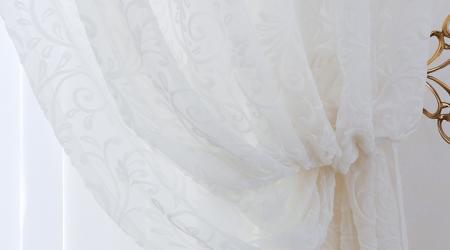 Как эффективно отбелить тюль в домашних условиях