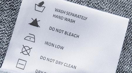 Расшифровка ярлыков на одежде