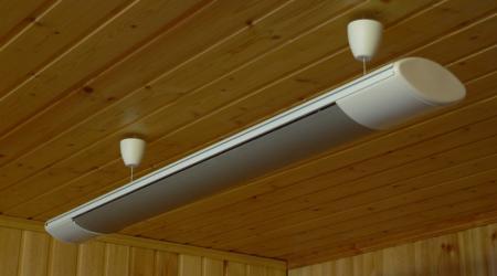 Как выбрать потолочный инфракрасный обогреватель
