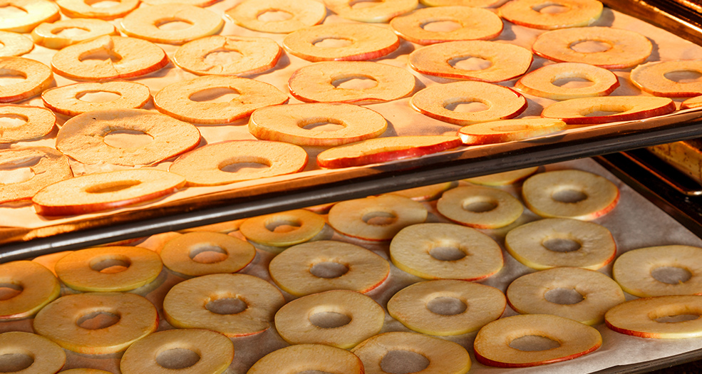 яблоки в духовке
