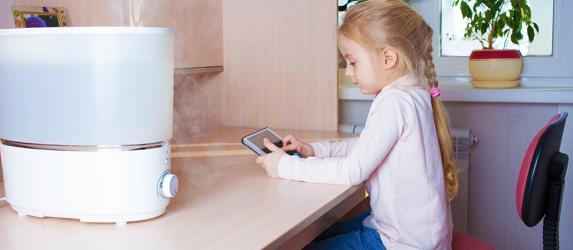 Какой лучше выбрать увлажнитель воздуха для детей