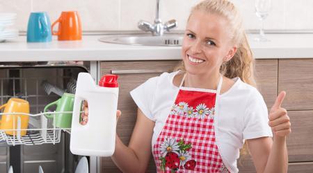 Соль для посудомоечной машины: выбор и применение