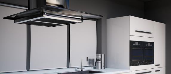 Выбираем вытяжку для кухни с отводом в вентиляцию