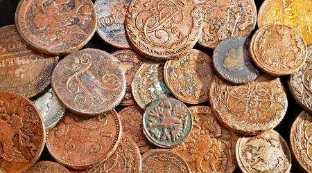 Как очистить монеты до идеального блеска