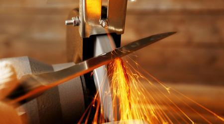 Как выбрать углы заточки ножей
