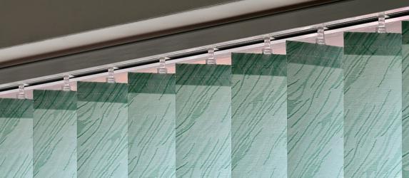 Вертикальные тканевые жалюзи: особенности эксплуатации