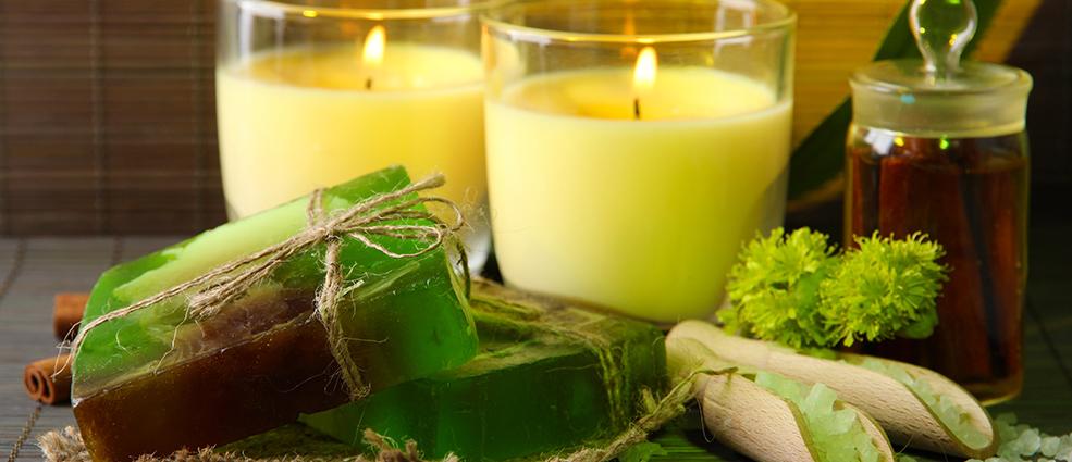 Как сделать свечу в из мыла 840