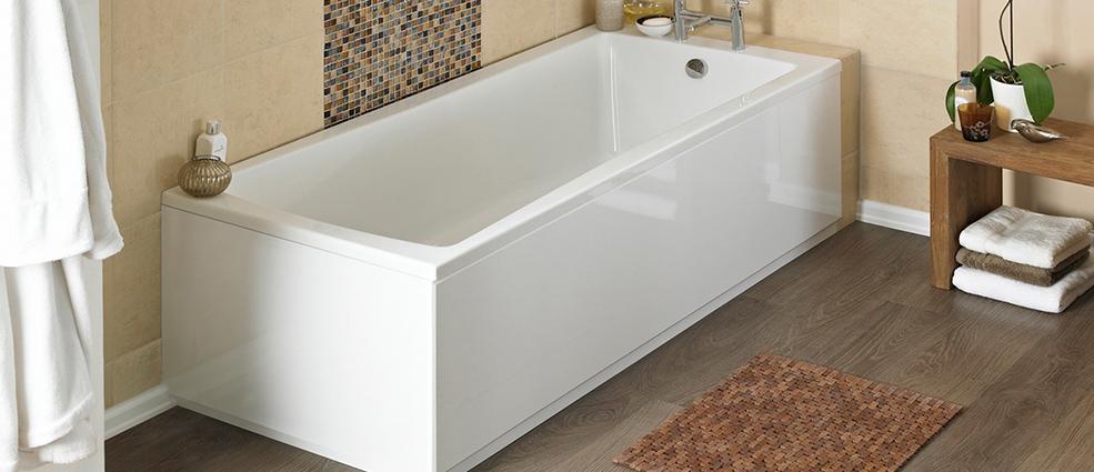 мыть акриловую ванну