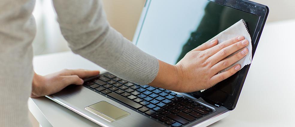 Как очистить от пыли ноутбук