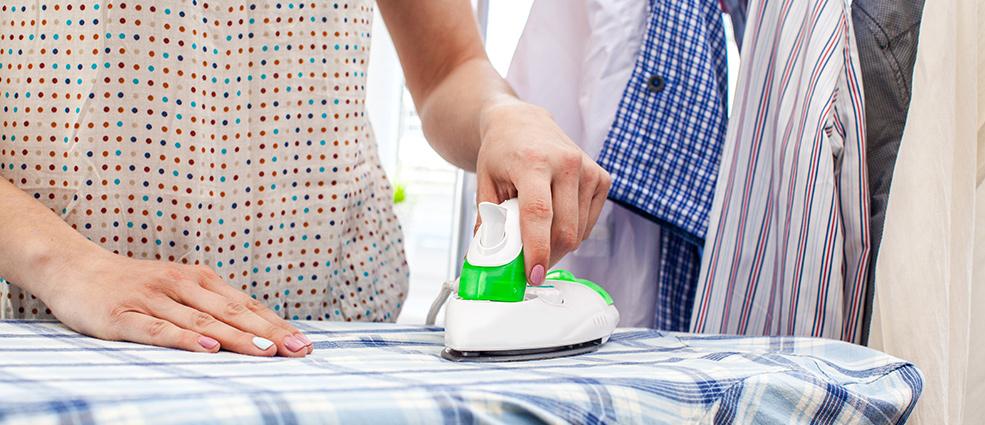 правильно гладить рубашку с длинным рукавом