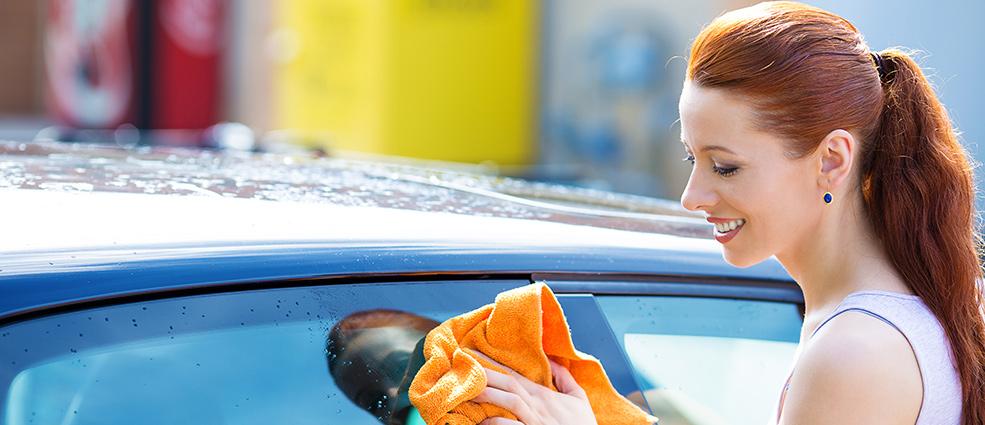 правильно мыть машину