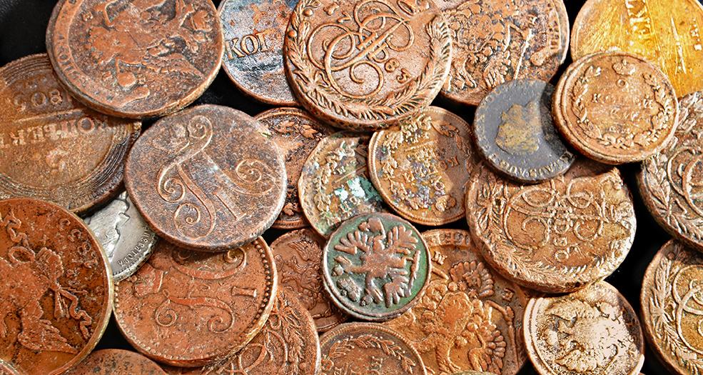 очистить монеты