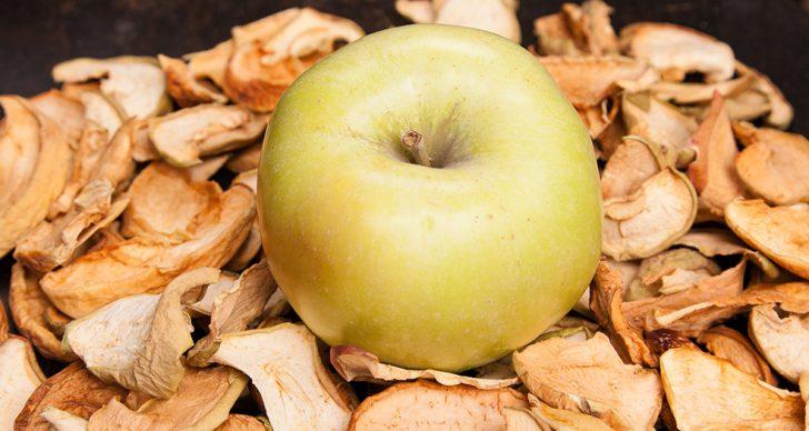 Как в домашних условиях высушить яблоки без сушилки